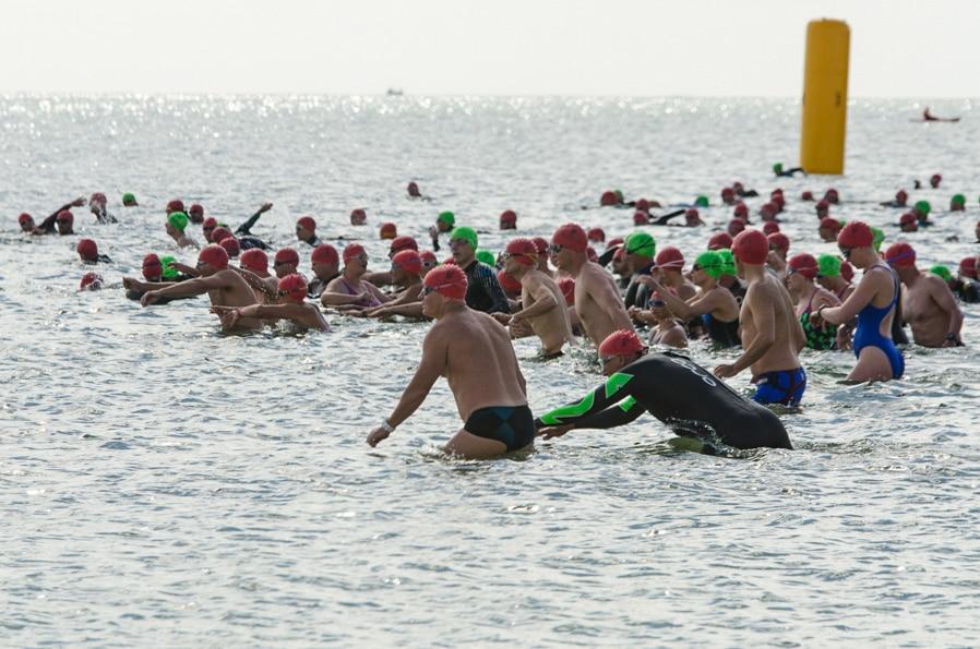 Seahorse Swim 2017 Race Start